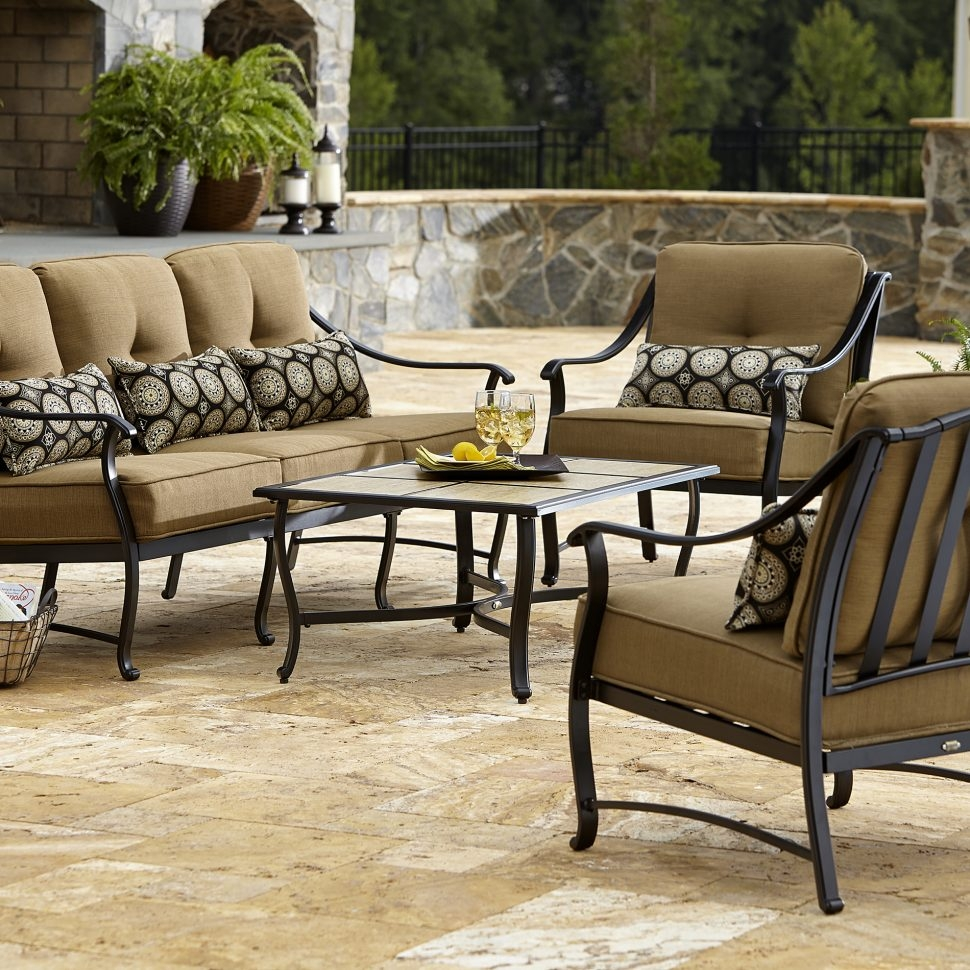 Patio La Z Boy Outdoor Landon Piece Seating Set Limited