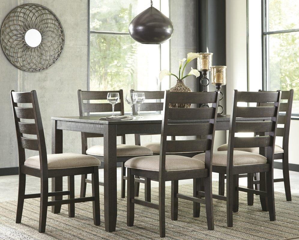 Perfect 7 Pc Dining Room Set Astounding And Interior Design Idea