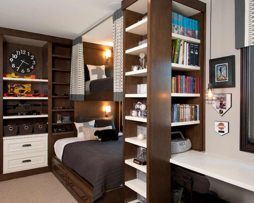 Perfect And Good Small Bedroom Storage Ideas Wazillomedia Home