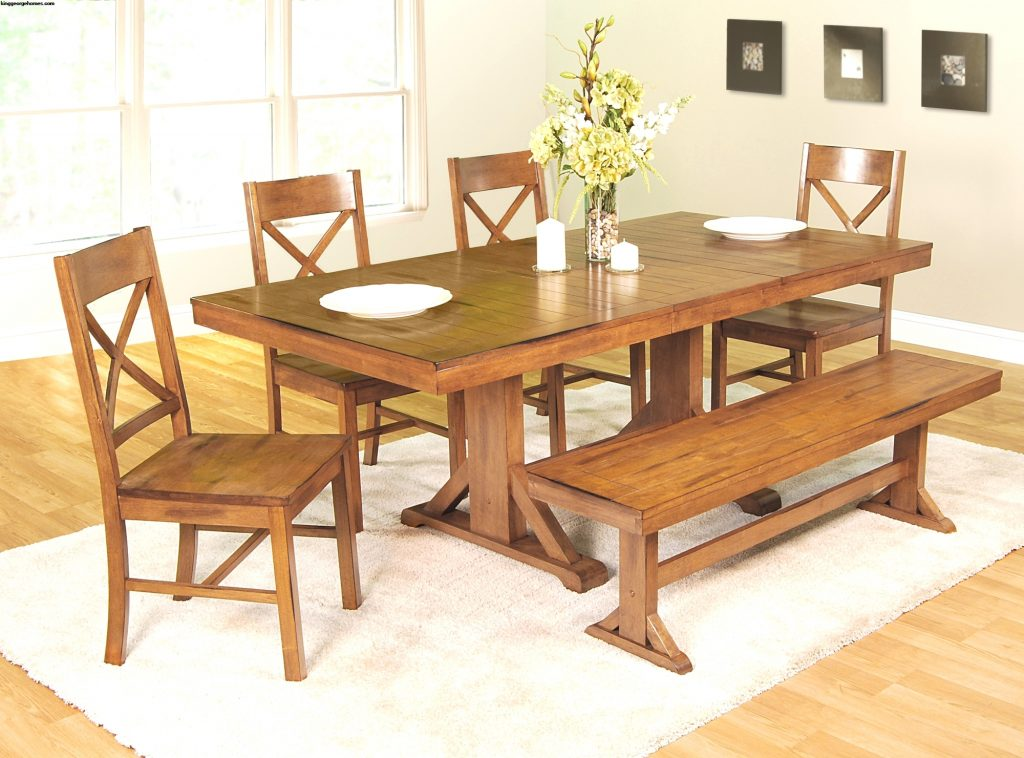 Perfect Country Style Dining Table Set