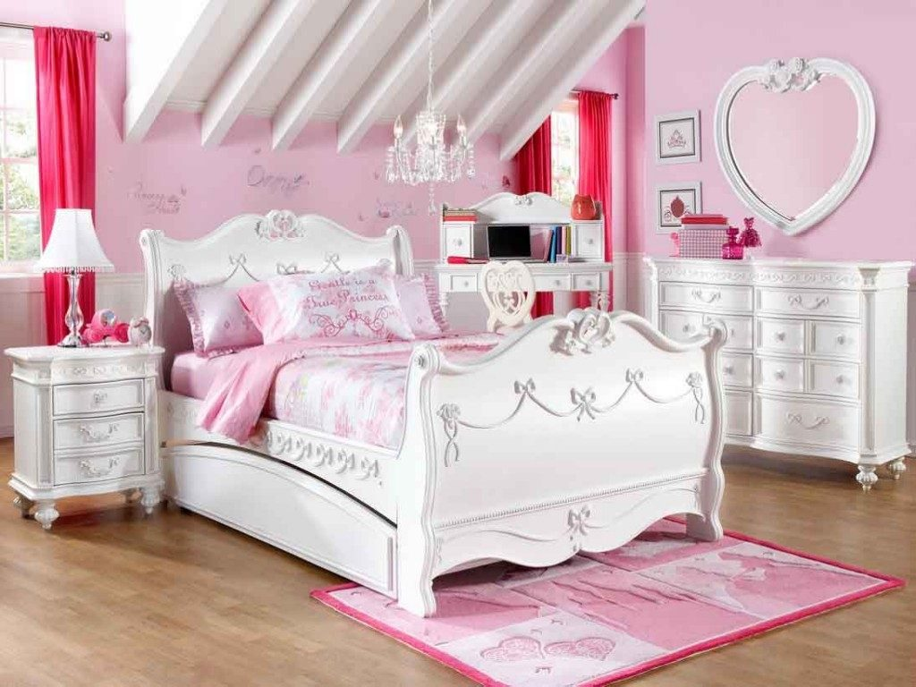 Perfect Little Girl Twin Bedroom Set Design Ideas Furniture Set