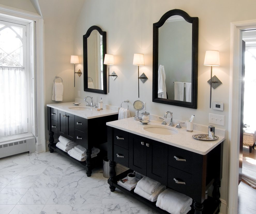 Philadelphia Vanity And Bathroom Victorian With Vanities Door Tops