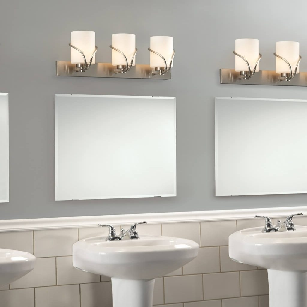 Placed Bathroom Vanity Light Fixtures Fortmyerfire Vanity Ideas