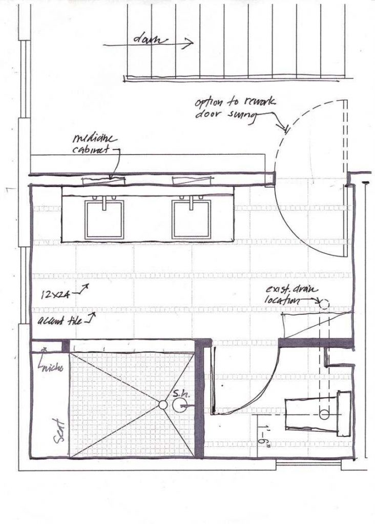 Planning A Bathroom Remodel Complete Ideas Example