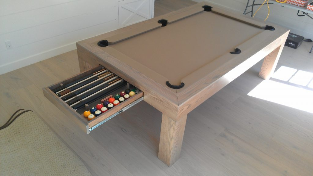 Pool Table Converts To Dining Awesome Cool Kitchen Art Ideas For