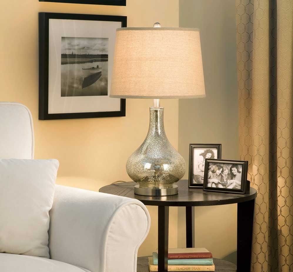 Popular Living Room Table Lamps Table Design The Best Living