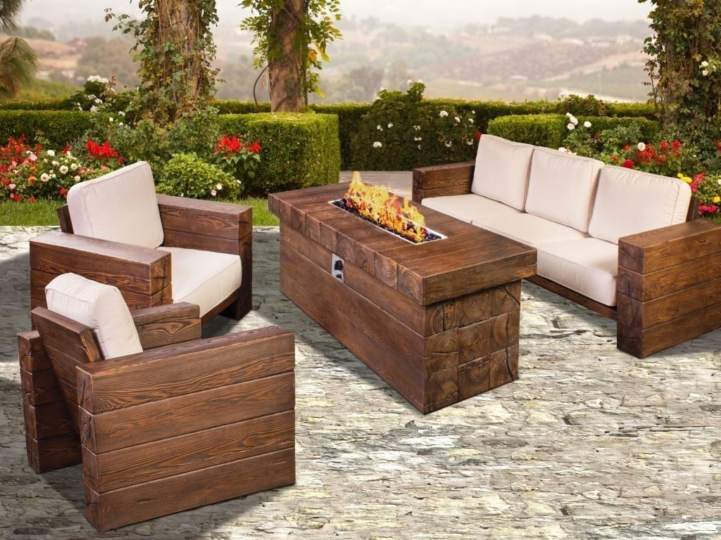 Popular Outdoor Furniture With Fire Pit All Home Decorations Patio