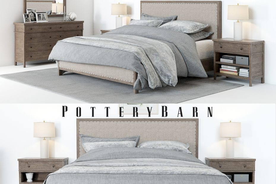 Pottery Barn Bedroom Sets In Toulouse Set Accessoires Designs 4