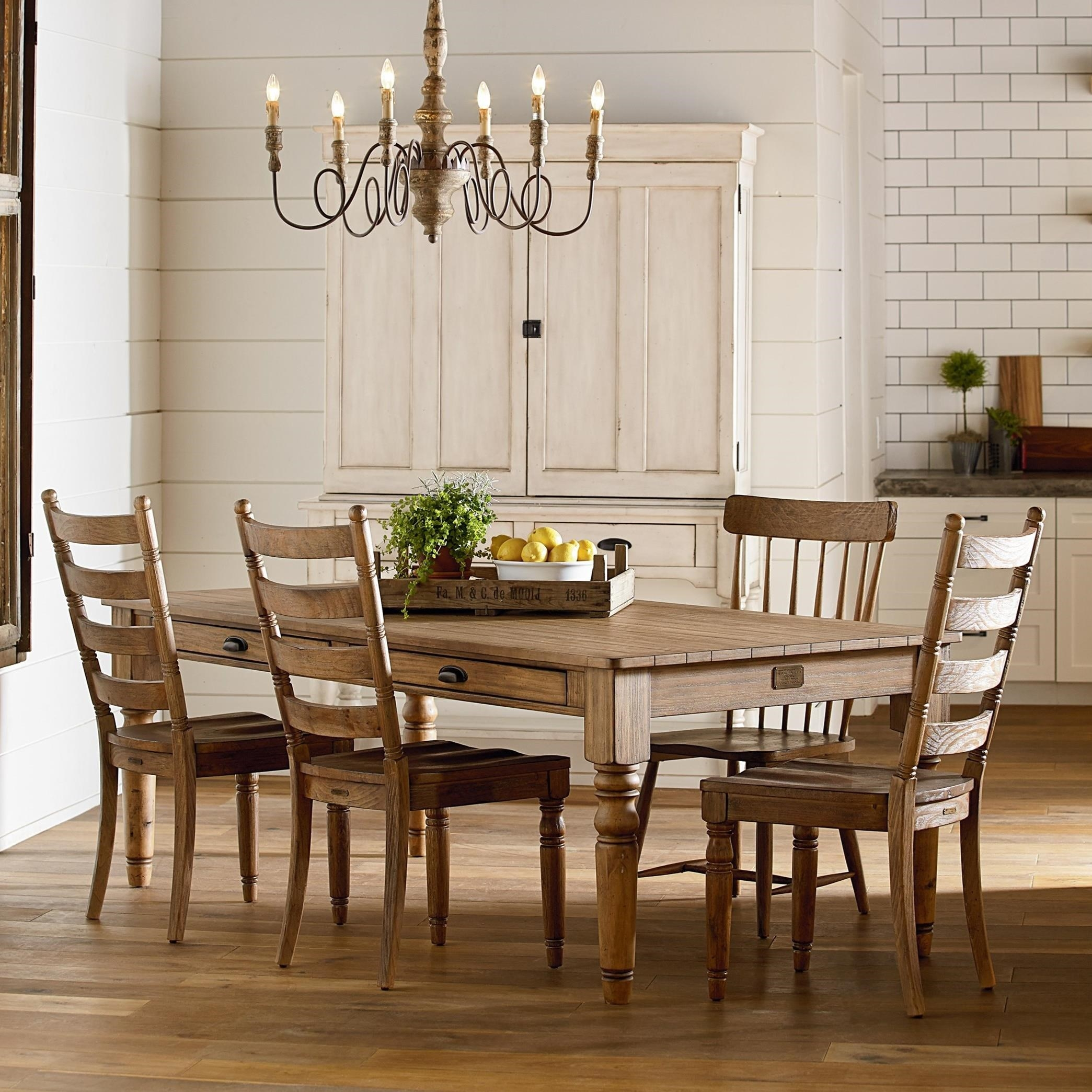 Primitive Dining Room Group Magnolia Home Joanna Gaines Wolf