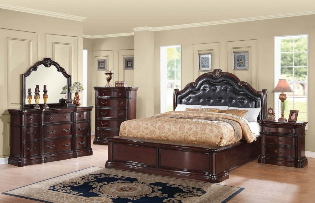 Recent House Architecture In Conjunction With Queen Bedroom Sets