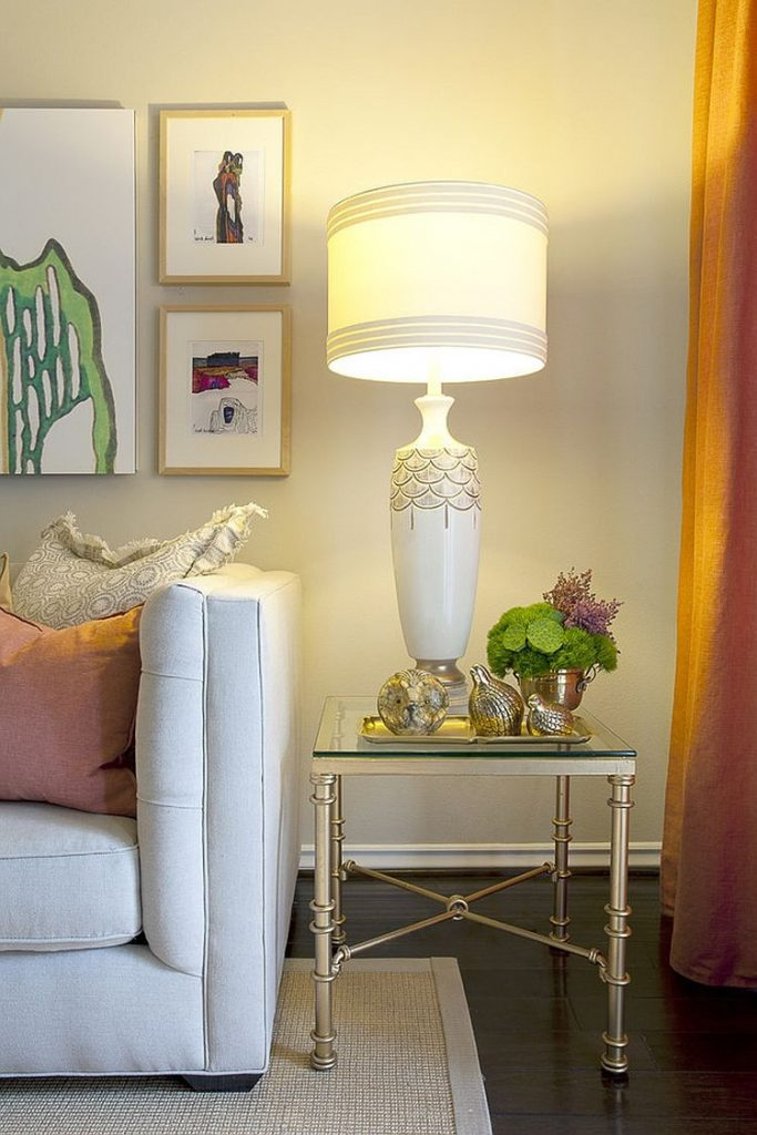 Red Table Lamps For Living Room Home Decor For Lovely Lighting It