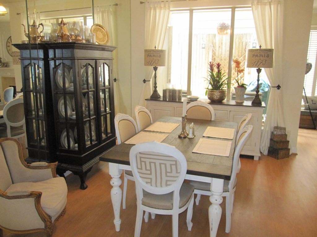 Refinished Dining Room Chairs Houston Furniture Refinishing With