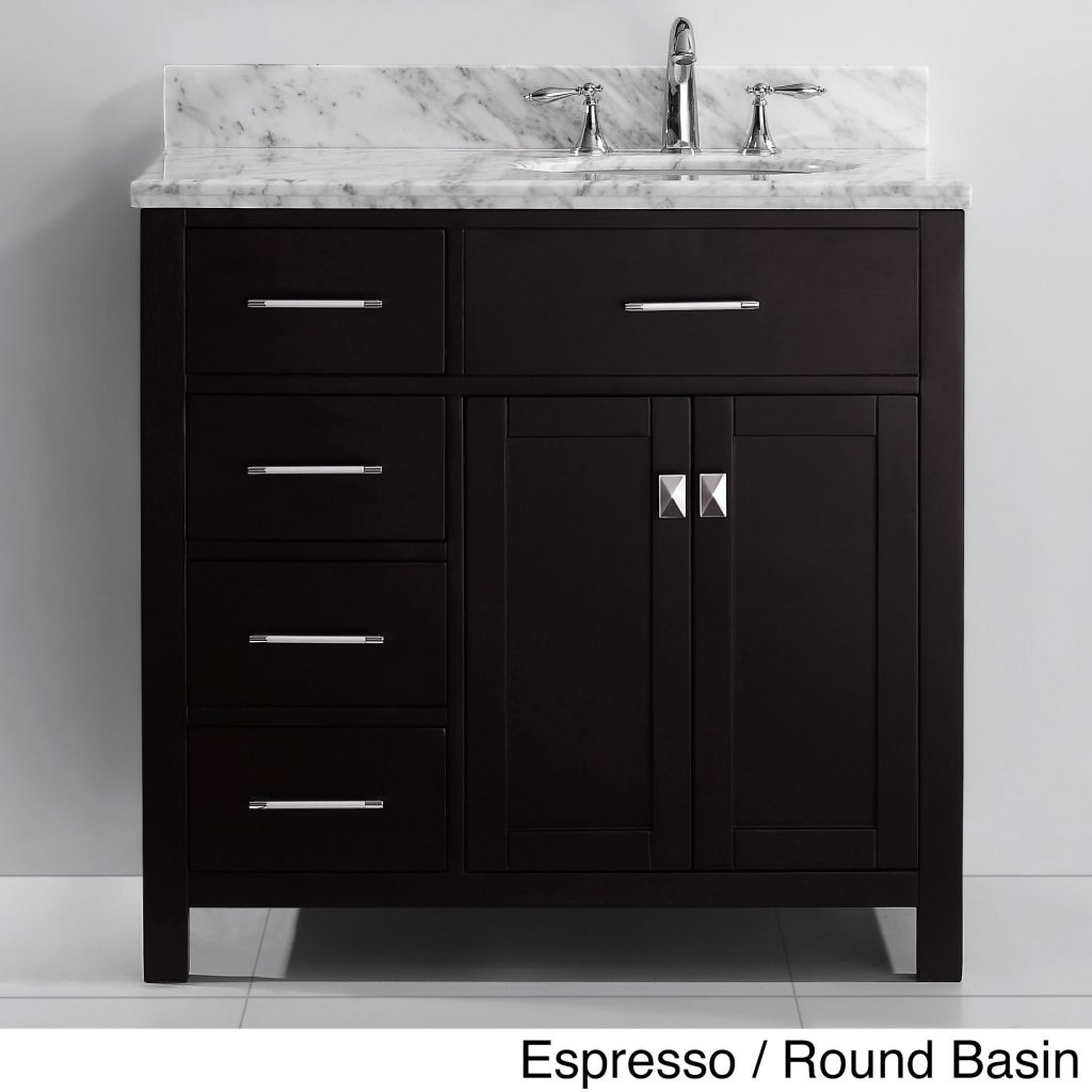 Reward Bathroom Vanities With Drawers On Left Side Vanity Right