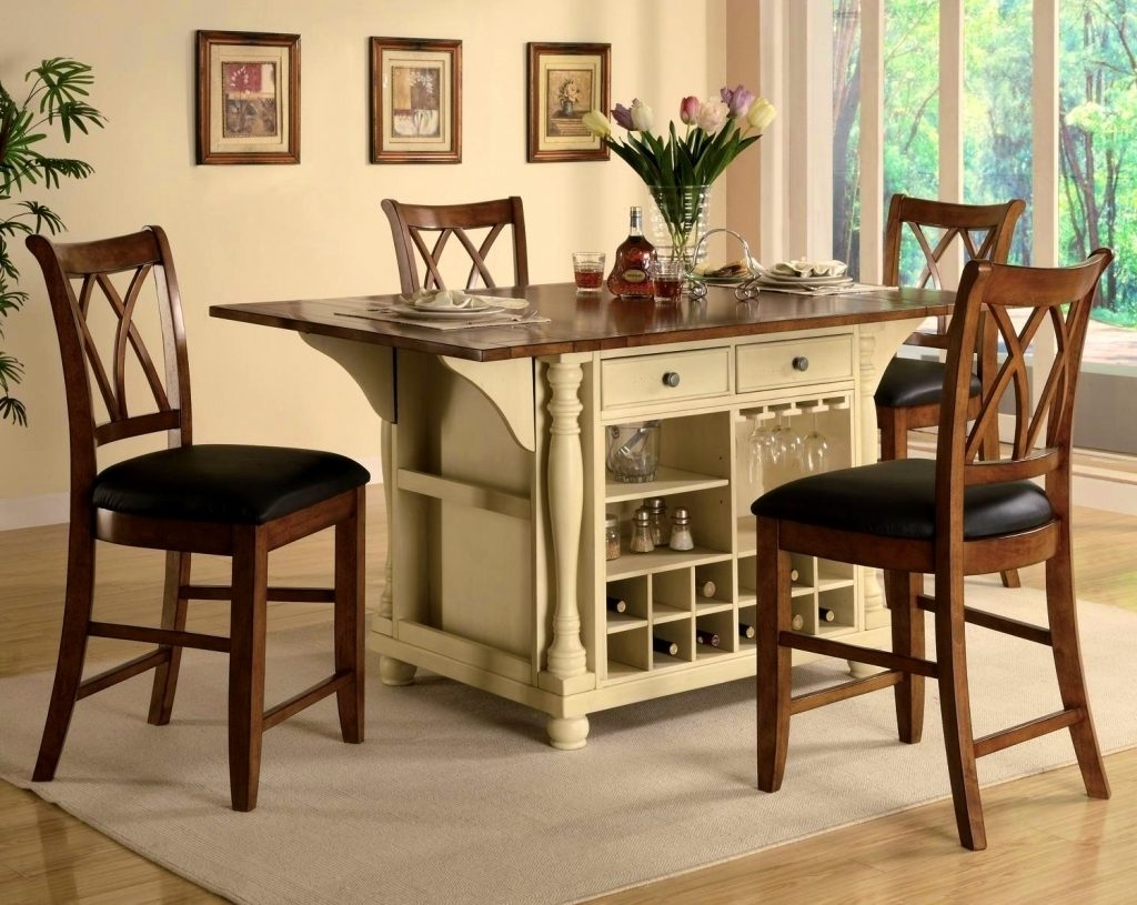Round Cherry Kitchen Tablefurniture Astonishing Formal Dining Room