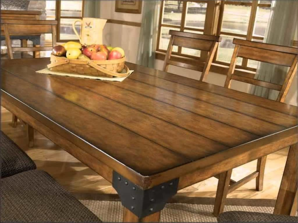 Rustic Dining Room Set Barn Wood Table Sets Bench Ideas Rooms Large