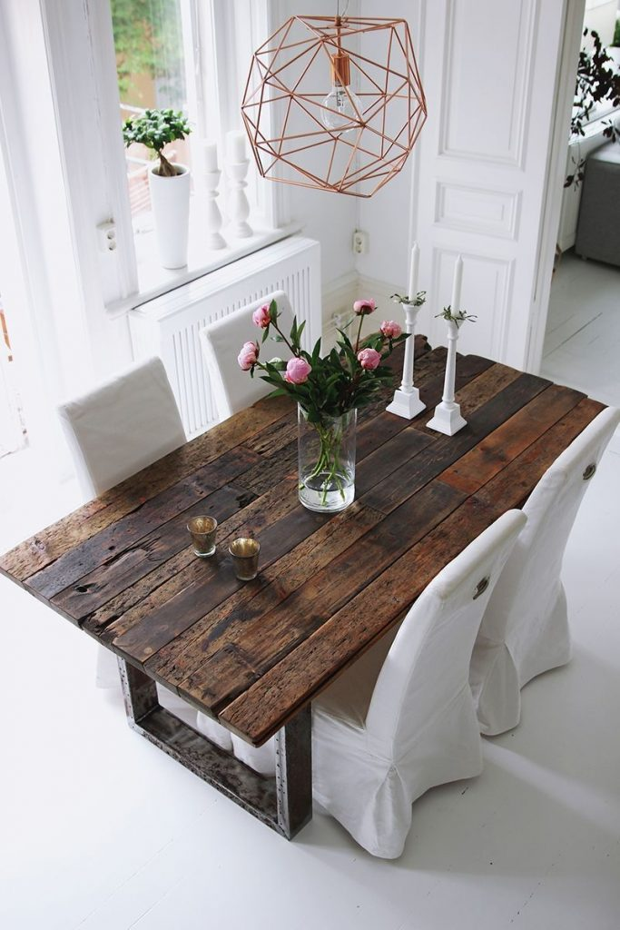 Rustic Wood Dining Room Sets Rustic Dining Room Table Decor Rustic