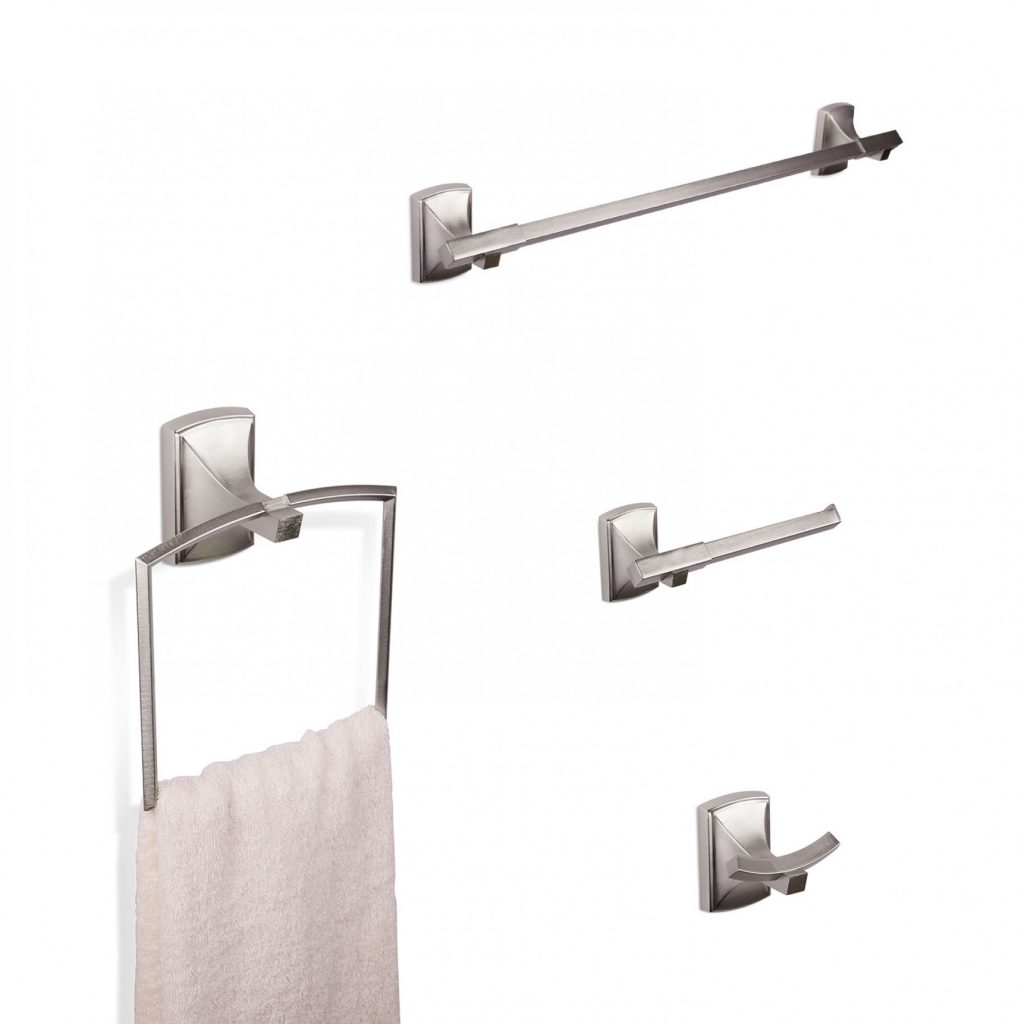 Savoy Bath Hardware Collection In Brushed Nickel Umbra