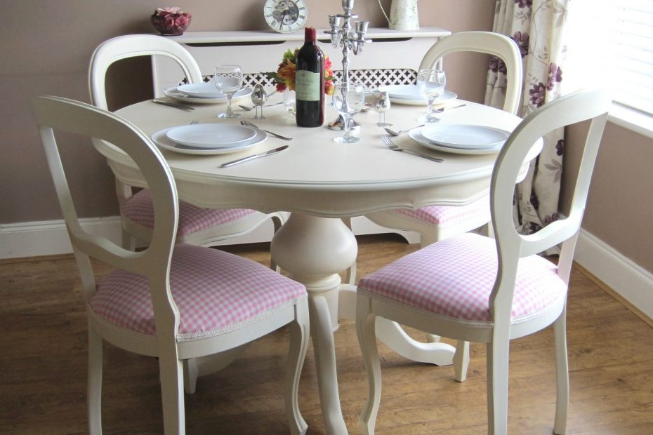Shab Chic Dining Room Table And Chairs Ebay Dining Room Decor