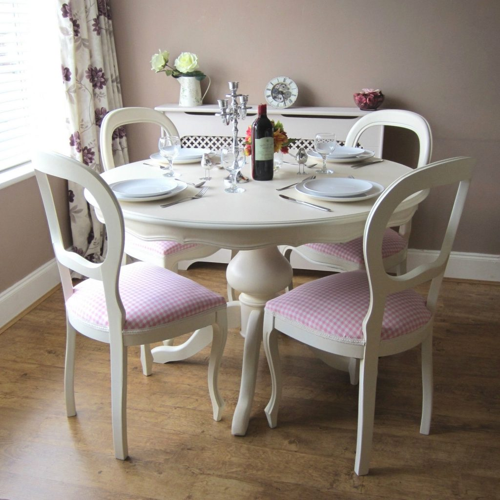 Shab Chic Table And Chairs Ebay Dining Room Chairs Ebay Dining Room