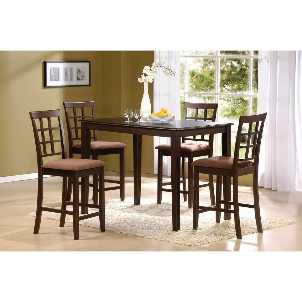 Shop Cardiff 5 Piece Espresso Finish Pack Counter Height Dining