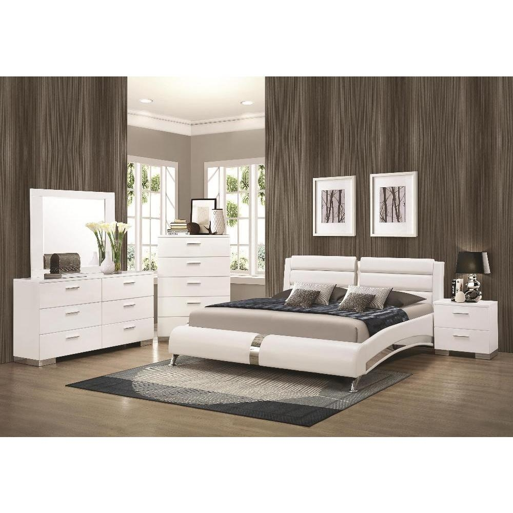 Shop Porter Contemporary 6 Piece Bedroom Set Free Shipping On