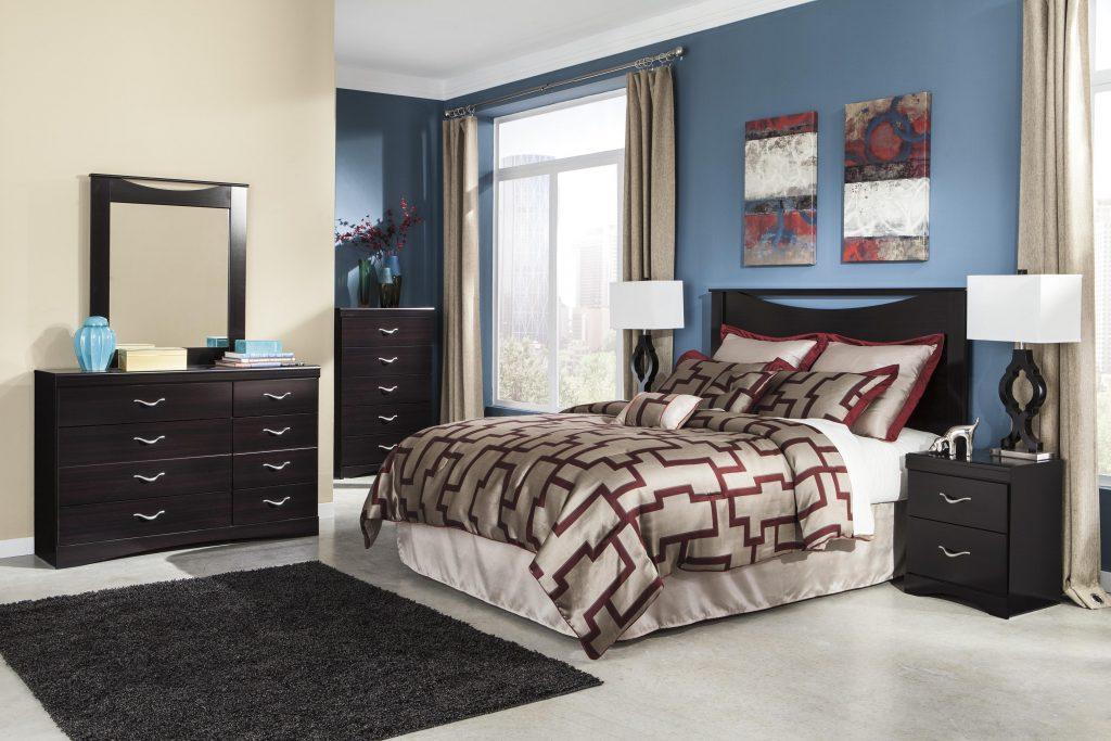 Signature Design Ashley Zanbury Queen Bedroom Group Runes