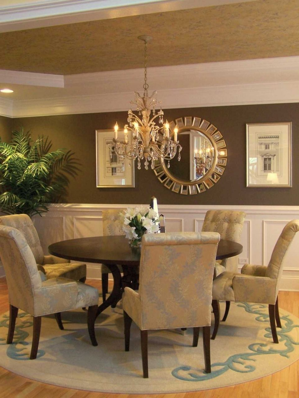 Size Of Chandelier For Dining Table Beautiful Hanging Dining Room