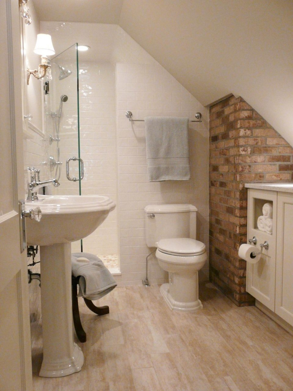 Small Attic Bathroom Layout Of Bathroom Design Ideas With Hd