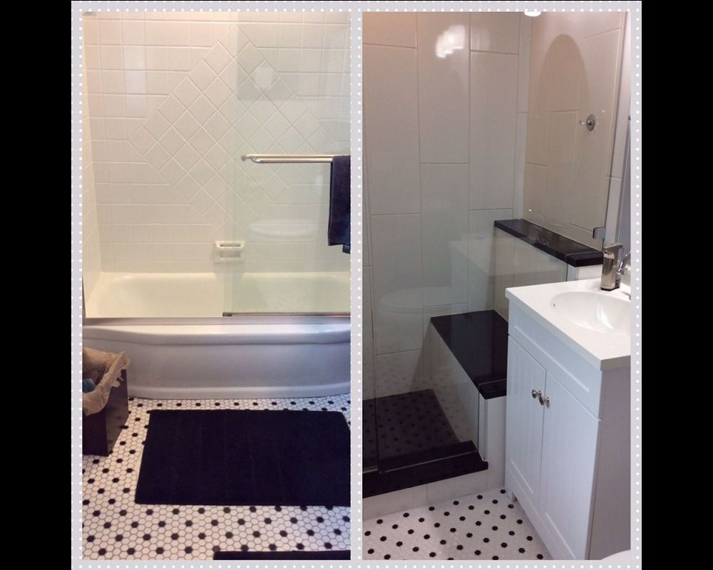 Small Bathroom Remodel Updated But The Classic Style Remained Yelp