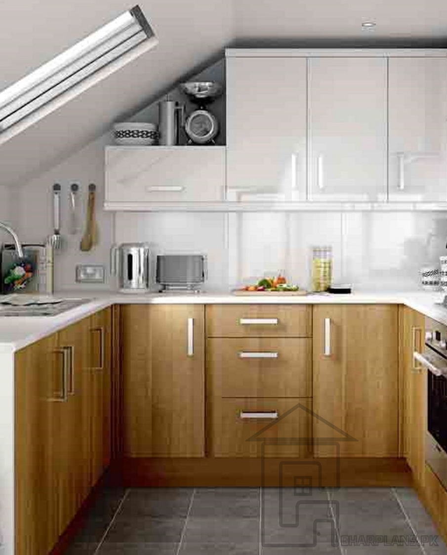 Small Kitchen Design In Pakistan Again Kitchen Has Been Given Less Layjao