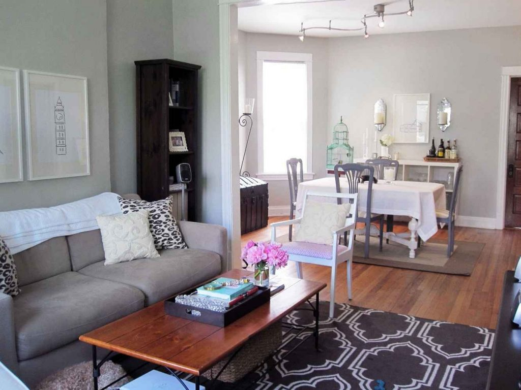 Small Living Room Dining Room Combo Home Space Tactics