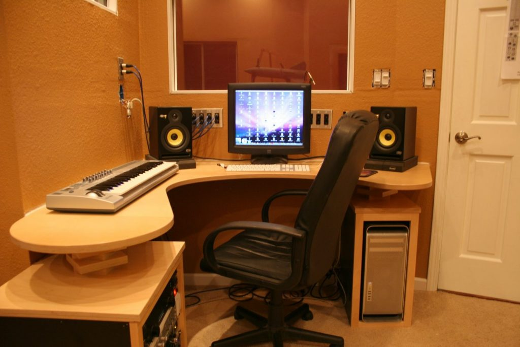 Small Recording Studio Desk Corepad Pinterest Logos With Personal
