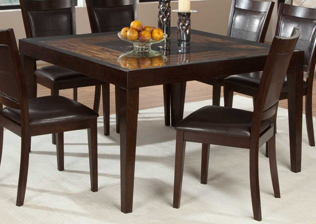 Square Dining Room Table Trend With Picture Of Square Dining