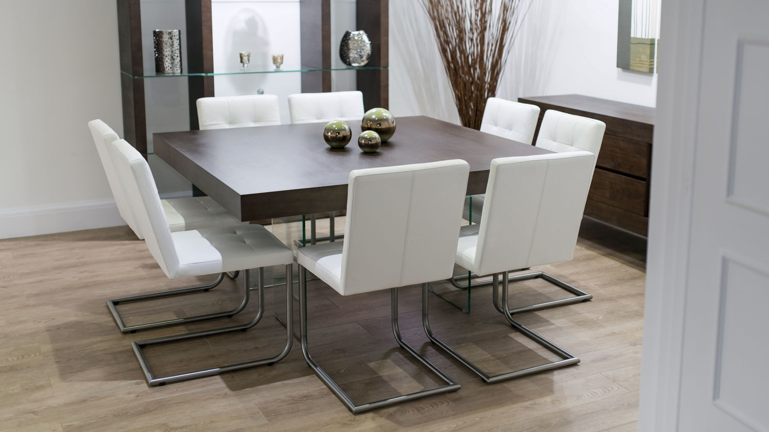 Square Dining Table For 9 Inside Article With Tag 9 Set – layjao