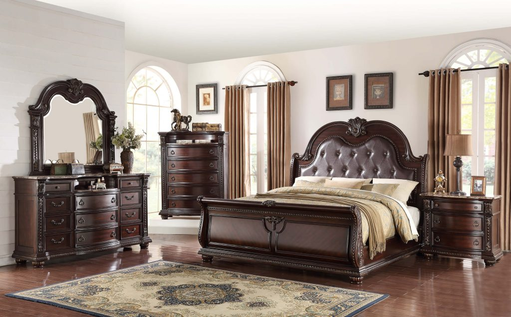 Stanley Marble Top Bedroom Set Bedroom Furniture Sets