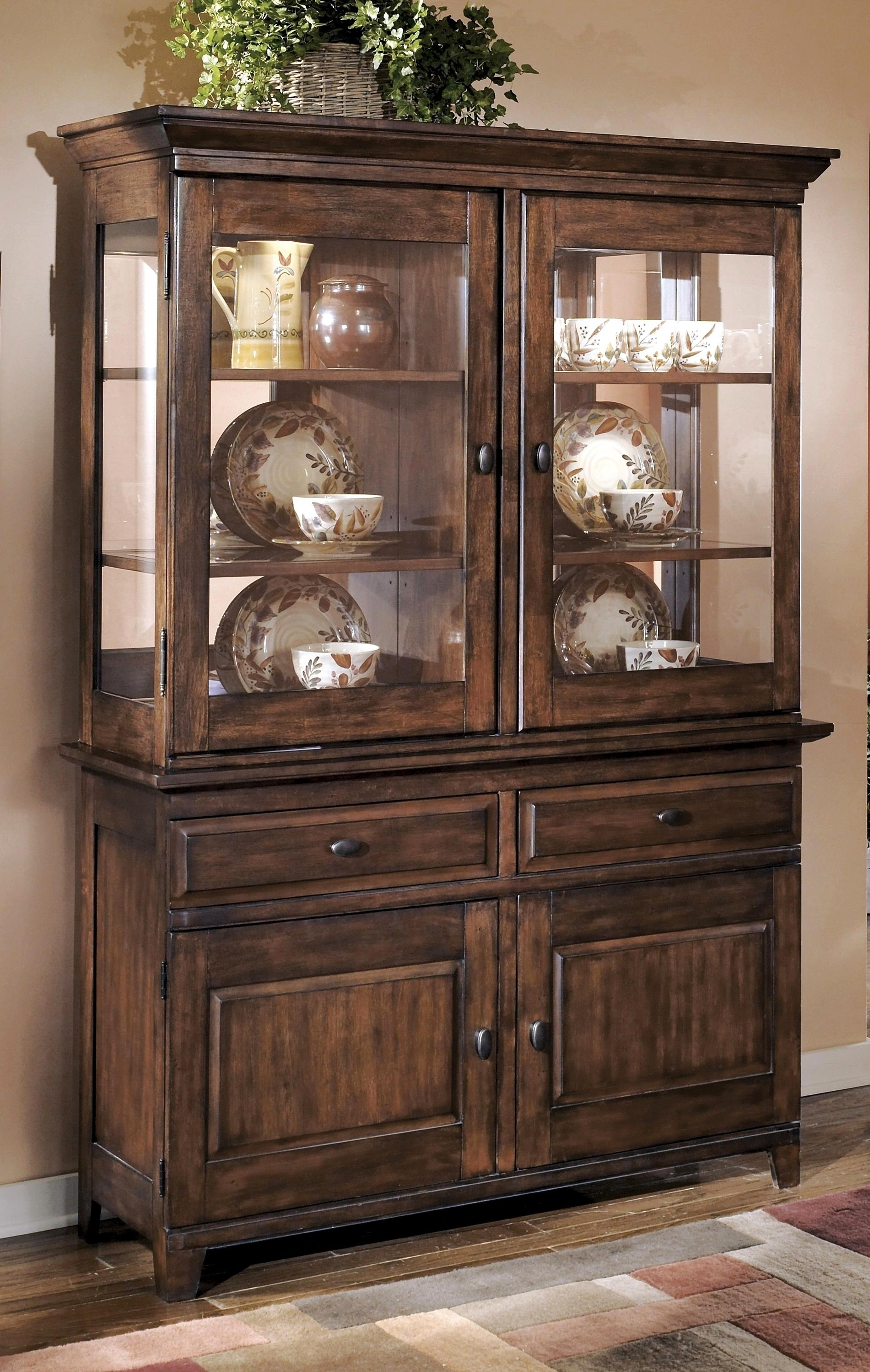 Startling Room Hutches Buffets Buffet Hutch Photo Ashley Furniture