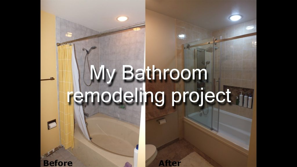 Step Step Diy Bathroom Remodeling Project Youtube
