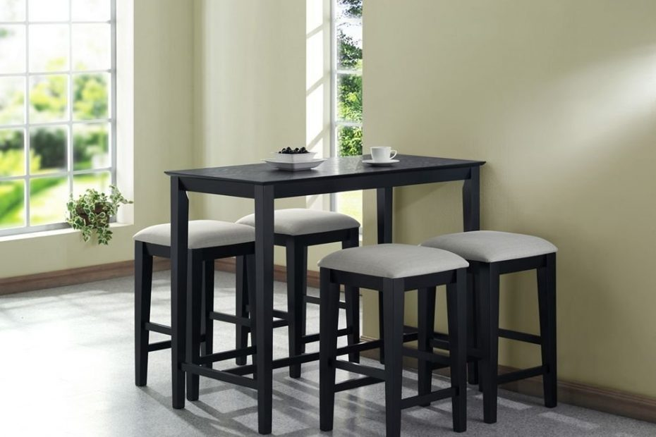 Stool Dining Room Sets For Small Spaces Zachary Horne Homes