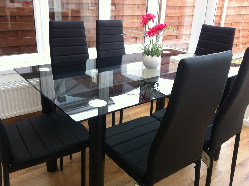 Stunning Black Dining Room Chairs Trends In Black Dining Room