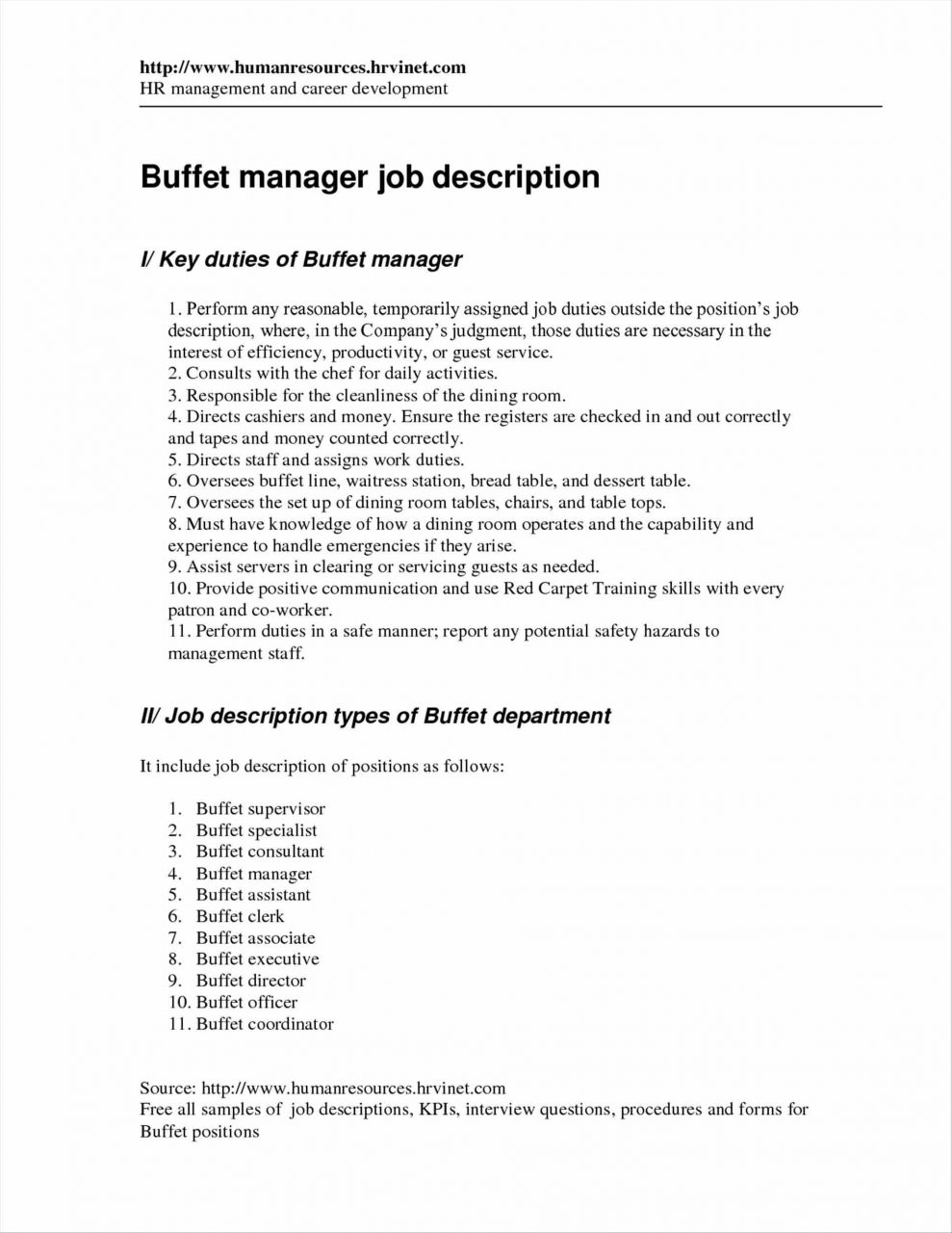 Style Agreeable Dining Room Manager Jobs Restaurant Job Duties
