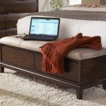 Stylish End Of Bed Storage Ottoman With Bedroom Brilliant Intended