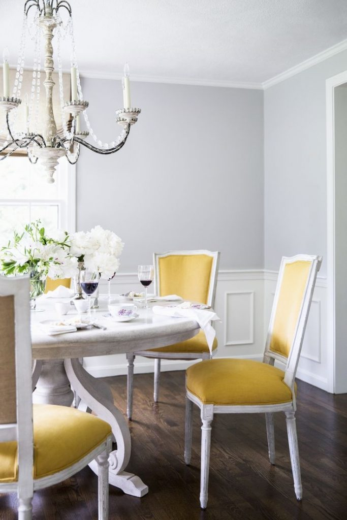 Surprising Mustard Yellow Dining Chairs Pics Inspiration Surripui