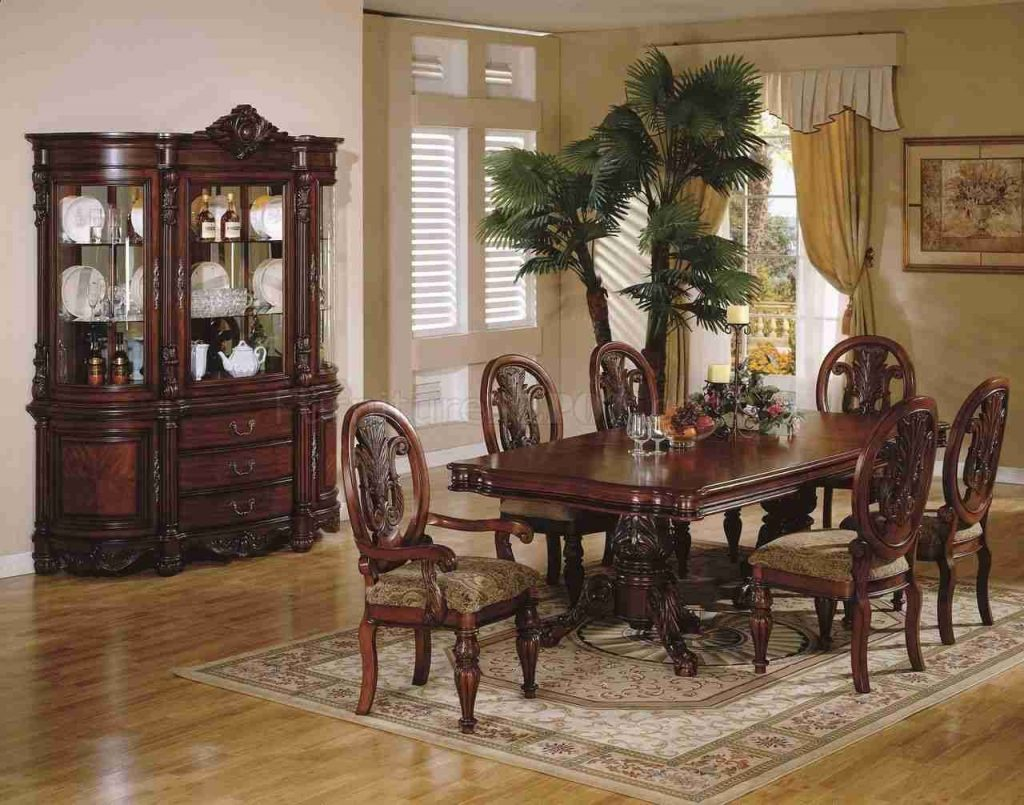 Table Dining Room Chairs China Hutch Designs Traditional Formal