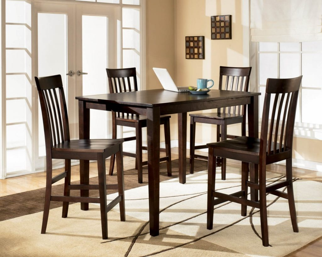 Tall Dining Room Tables With Bench Amazon Table 8 Chairs Extendable