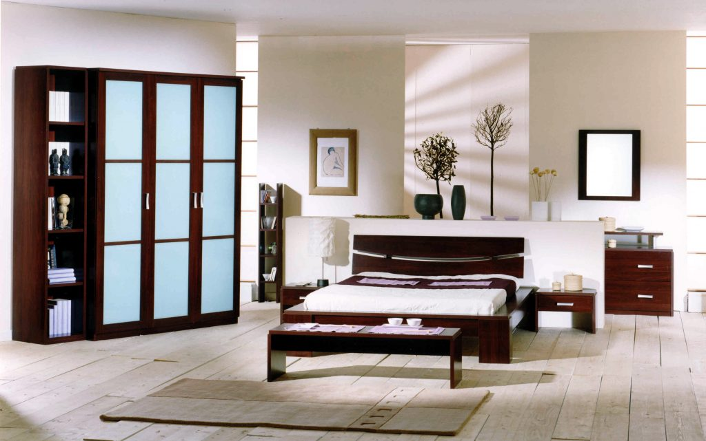 Terrific White Built In Bedroom Furniture With Fitted Wardrobe