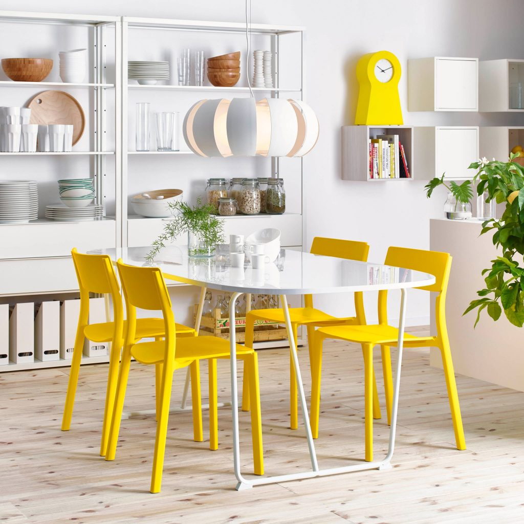 The Incredible Yellow Dining Room Ideas For Property Home Design
