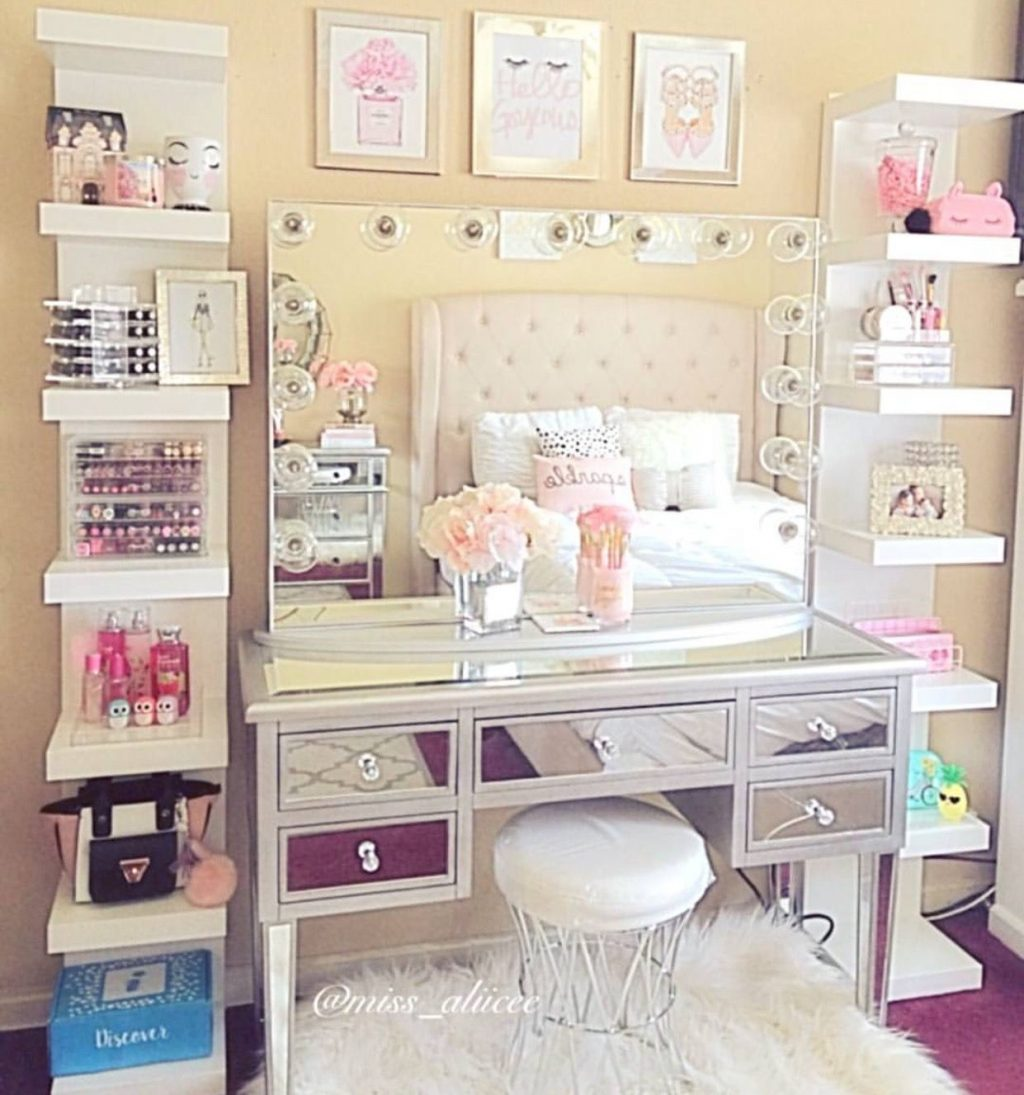 These 22 Magnificent Makeup Stations Will Inspire You Pinterest