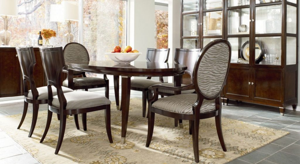 Thomasville Dining Room Set Within Top Chairs On Table And Great
