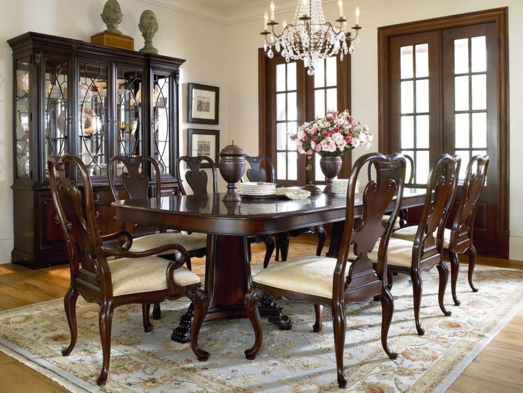 Thomasville Dining Table Style Cole Papers Design Exclusive