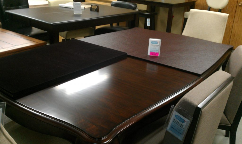Tips Custom Table Protector Pads For Your Dining Table Sets Design